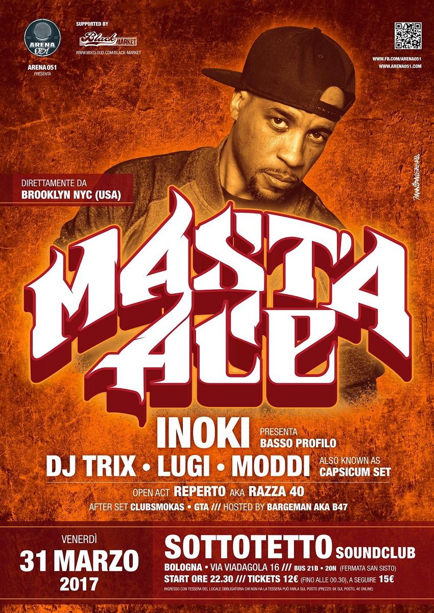 Masta Ace live a Bologna – 31 marzo 2017