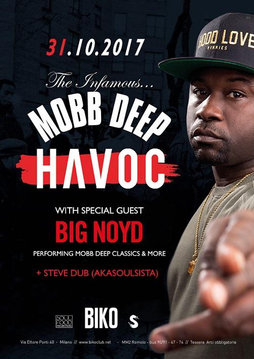 Havoc live a Milano – 31/10/17