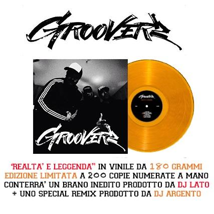 "I Grooverz stampano in vinile ""Realta' e leggenda""!"