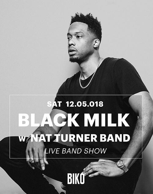 Black Milk e Nat Turner Band live a Milano – 12 maggio 2018