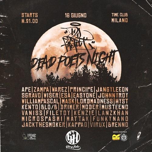 Dj Fastcut porta la Dead Poets Night a Milano