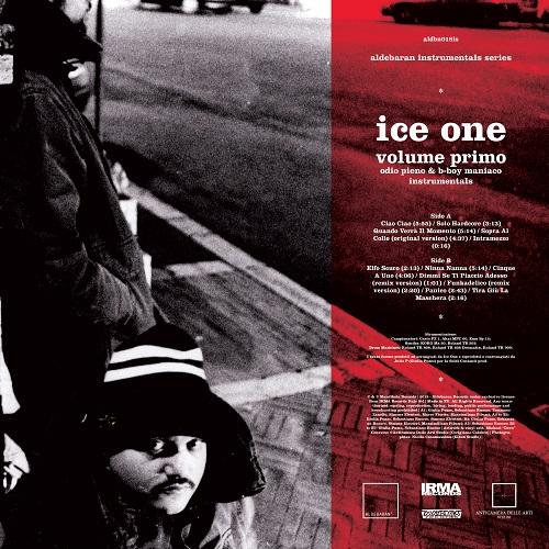 Ice One – Odio pieno & B-boy maniaco instrumentals (Volume primo)