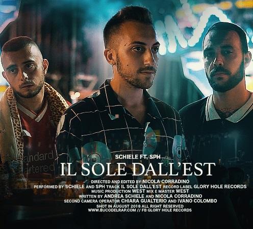 """""""Il sole dall'est"""" e' il nuovo singolo di Schiele"""