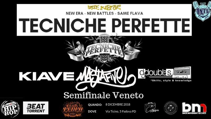 L'8 dicembre si svolgeranno le semifinali del Tecniche Perfette per il Veneto