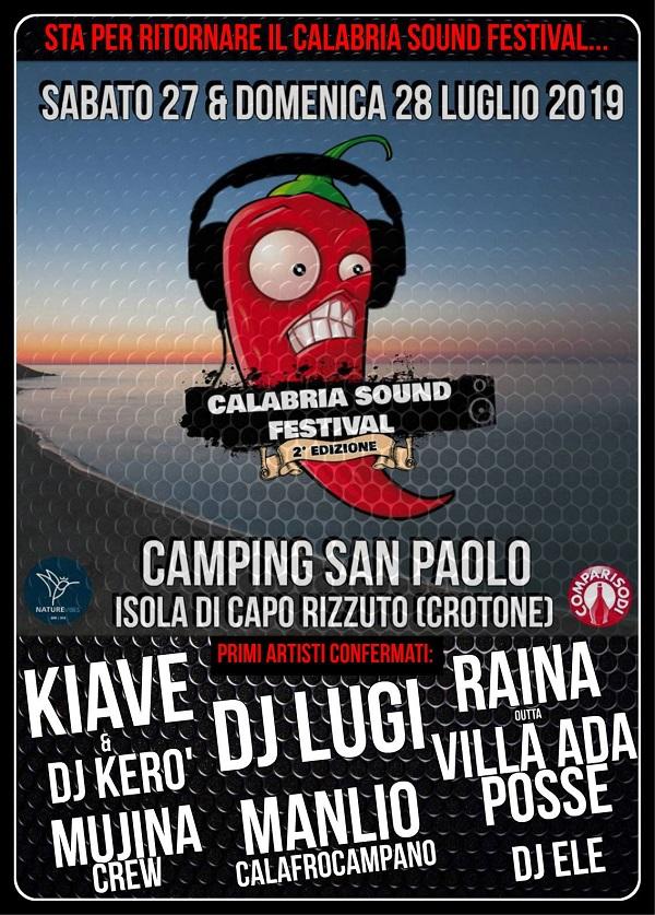 Il Calabria Sound Festival ospita Kiave e Dj Lugi