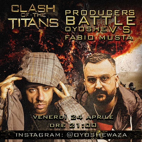 Clash of the titans: Oyoshe vs Fabio Musta come Dj Premier vs RZA!