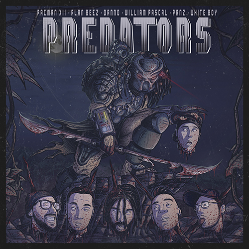 "Pacman XII pubblica il remix di ""Predators"" con Danno, William Pascal, Panz e White Boy"