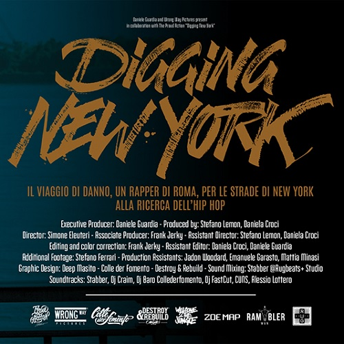 "Il documentario ""Digging New York"" del Danno e' disponibile online"