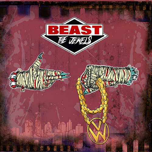 "David Begun mischia Beastie Boys e Run The Jewels in ""Beast The Jewels"""