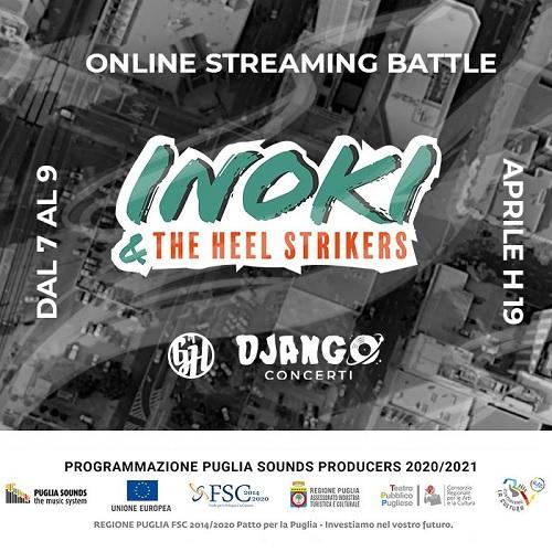 Inoki lancia The Heel Strikers, evento in streaming per scoprire i nuovi talenti del Rap