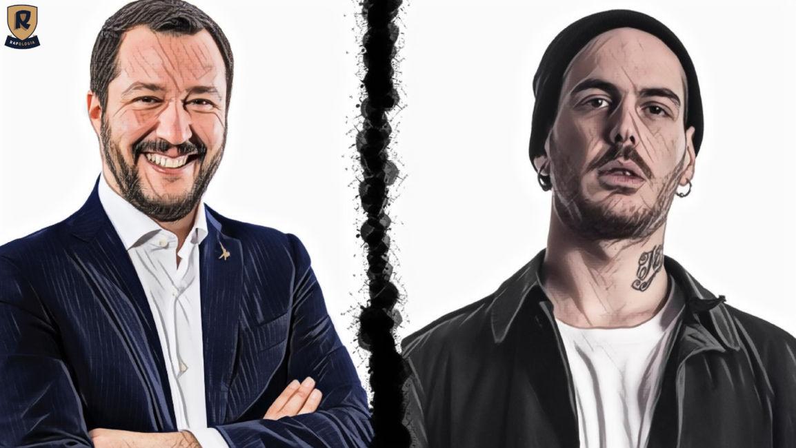 Gemitaiz contro la Lega Nord Salvini