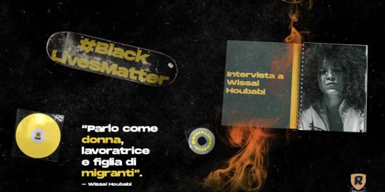 Wissal Houbabi Black Lives Matter