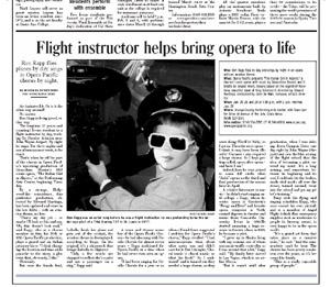 Irvine World News article