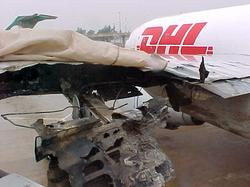 Damaged Airbus A300