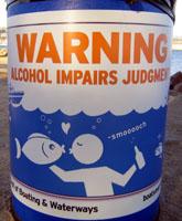 Alcohol impairs jugement