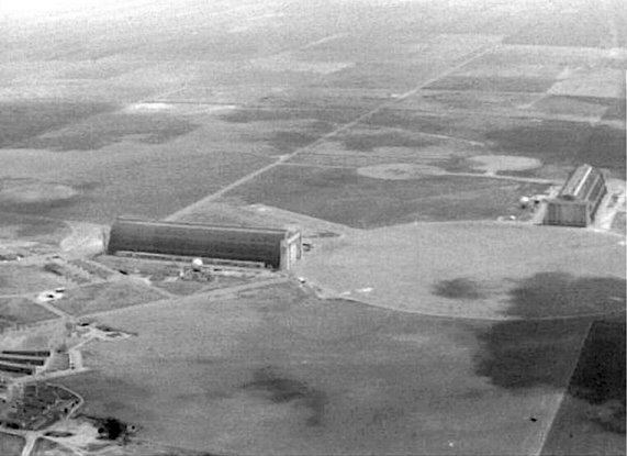 The Tustin LTA base in 1957. Nothing but farm land and open skies!