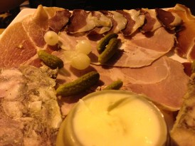 No trip to the City of Light would be complete without sampling the charcuterie offerings