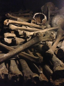 Most of the remains are of those who lived in the 16th and 17th centuries.