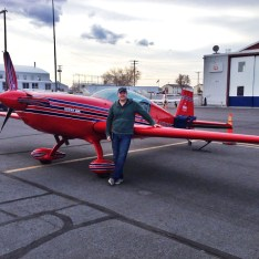 Fueled, loaded, preflighted, and ready for a solo flying adventure