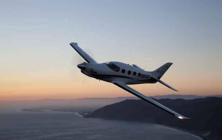 The Epic LT.  It's a composite, 6-seat, 300 knot turboprop.  Oh, and it's a homebuilt aircraft!