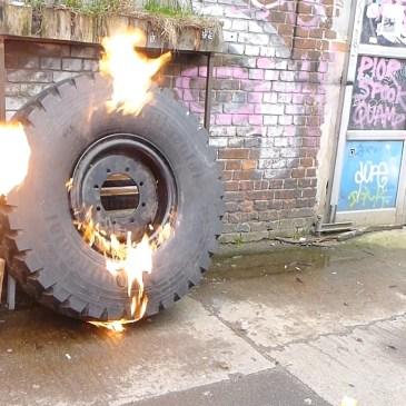 Wie wir den Reifen auf die Felge bringen…