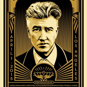 The Music of David Lynch -Shepard Fairey - Galerie RapportArt