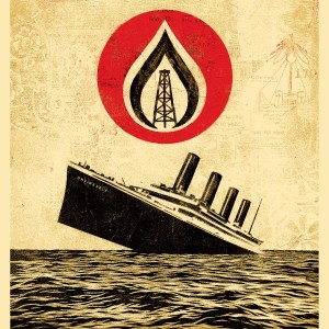 Unsinkable Consumption - Shepard Fairey - Galerie RapportArt