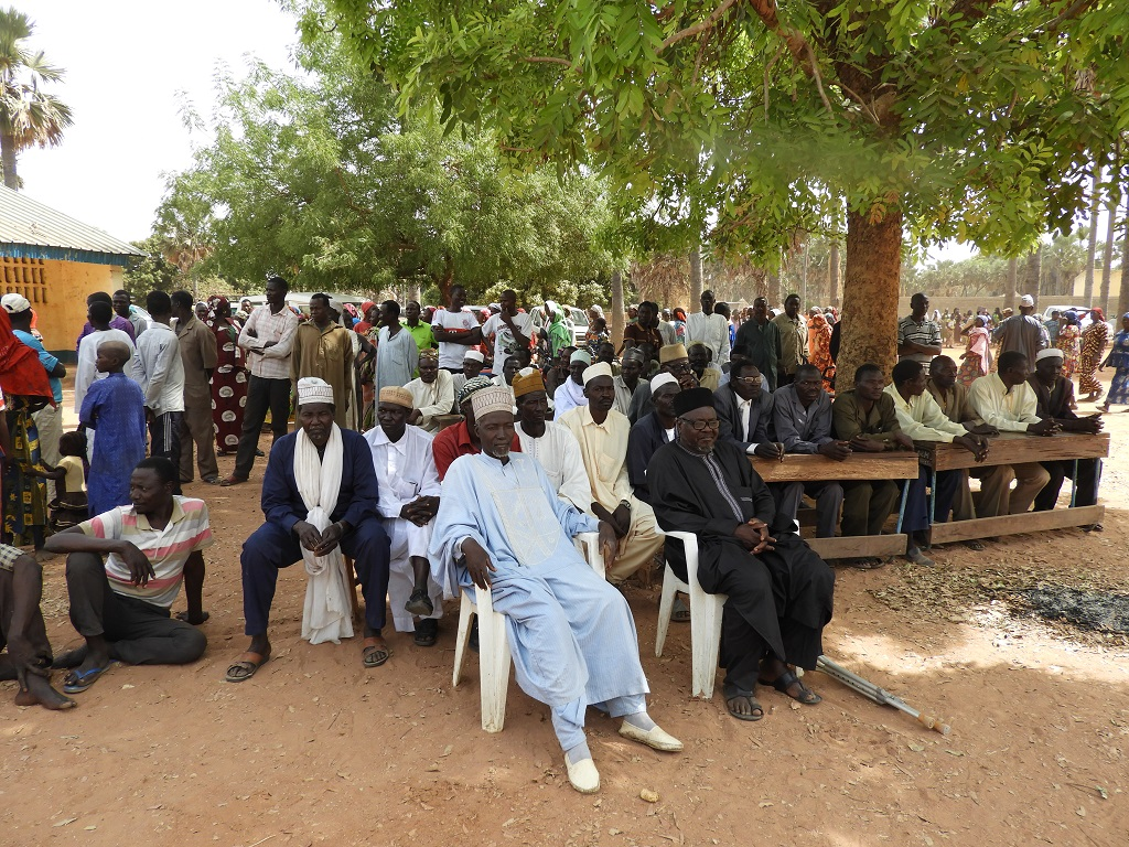 Lancement à Goundi PASTOR SUD