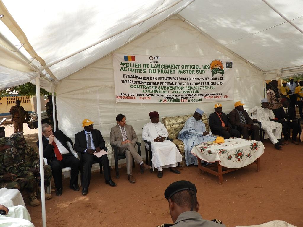 Atelier de lancement officiel des activités du PASTOR SUD, A Goundi dans le departement du Mandoul Oriental, Région du Mandoul