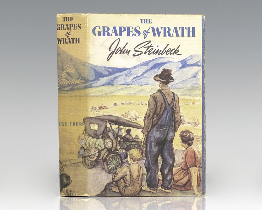 Image result for grapes of wrath first edition