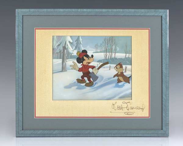 Walt Disney Signed Production Cel.