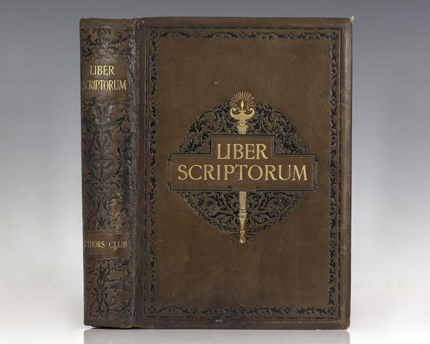 Liber Scriptorum. The First Book of the Authors Club.
