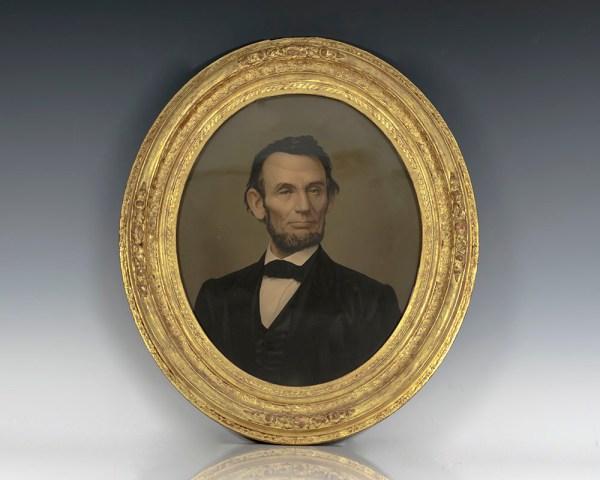 Abraham Lincoln Portrait.