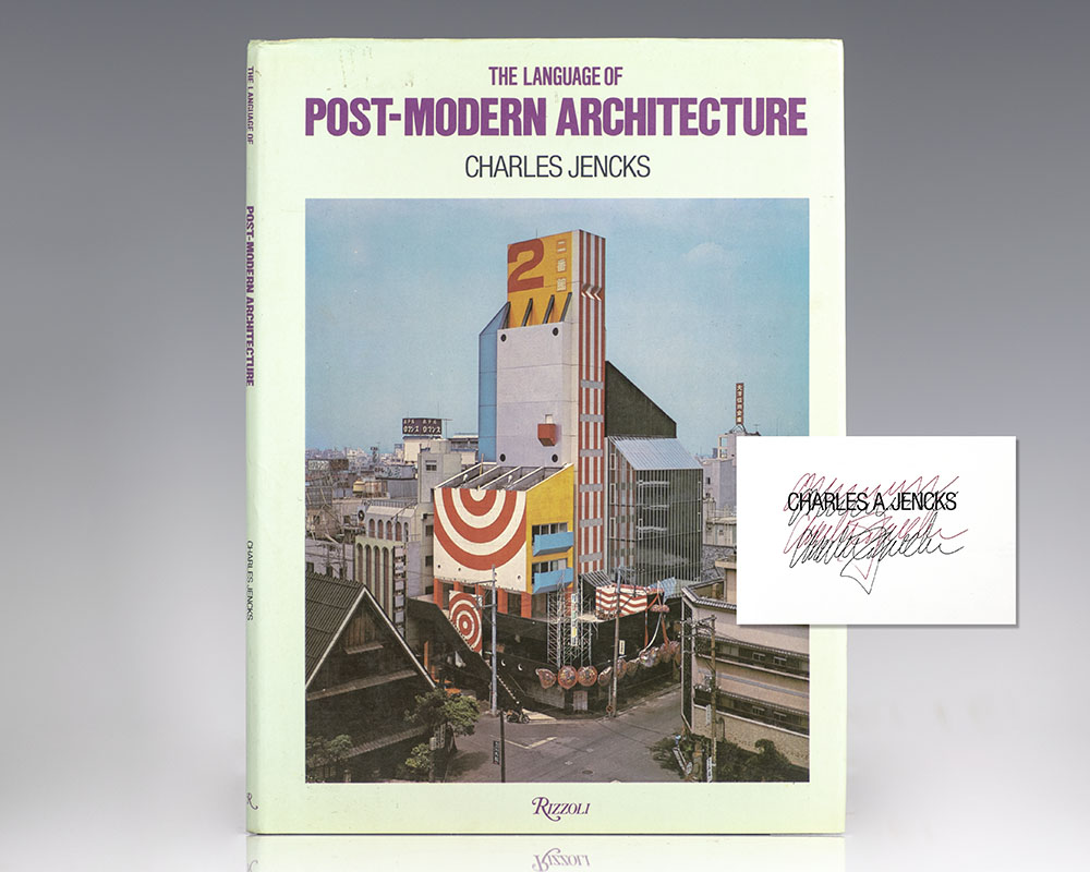 The Language Of Post Modern Architecture Charles Jencks First Edition Signed