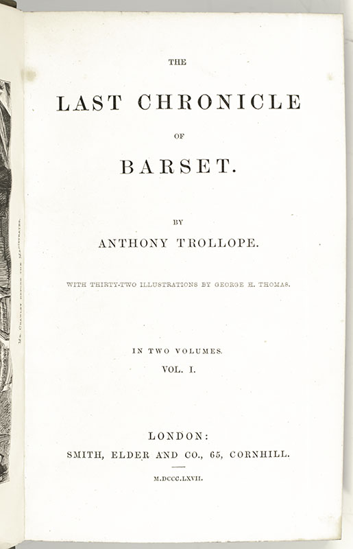 The Last Chronicle of Barset.