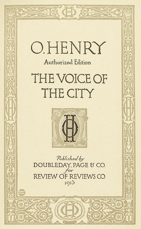 The Works of O. Henry.