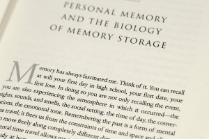 In Search Of Memory.