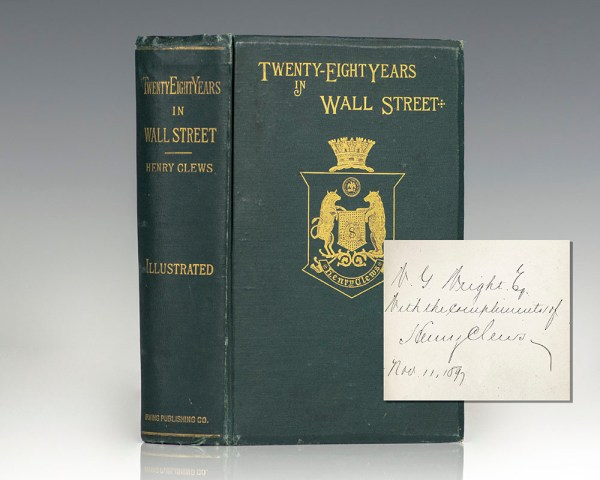 Twenty-Eight Years In Wall Street.