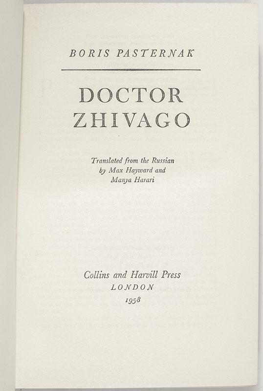 Doctor Zhivago.