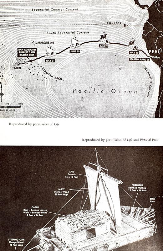 The Kon-Tiki Expedition: By Raft Across the South Seas.