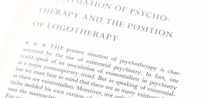 The Will To Meaning: Foundations and Applications of Logotherapy.