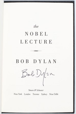 The Nobel Lecture.