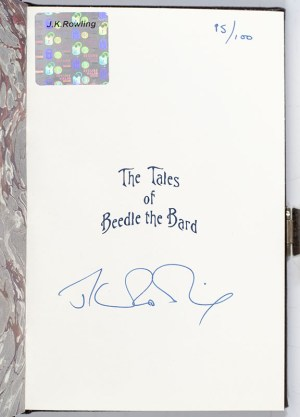 The Tales of Beedle the Bard. Translated from the Original Runes by Hermione Granger. With Commentary by Professor Albus Dumbledore.