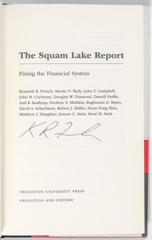 The Squam Lake Report: Fixing the Financial System.