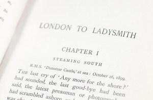 London To Ladysmith Via Pretoria.
