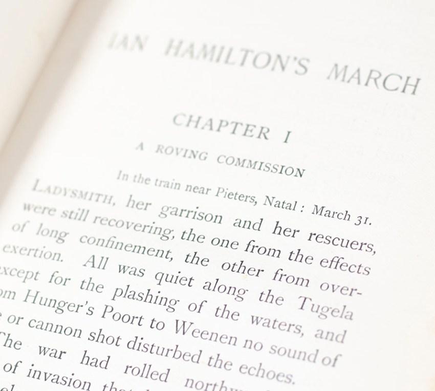 Ian Hamilton's March.
