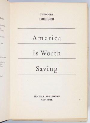 America is Worth Saving.