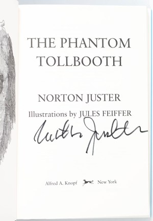 The Phantom Tollbooth.