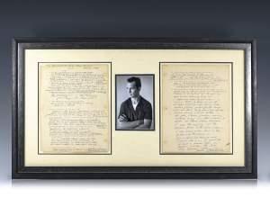 In the News – Rare Jack Kerouac Interview Manuscript