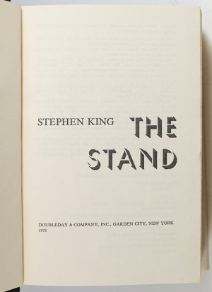 The Stand.